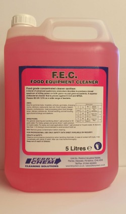 F.E.C Food Equipment Cleaner